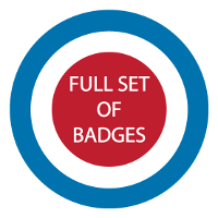 Image of Full Set of Badges